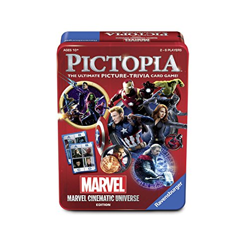 The Wonder Forge Pictopia Game Marvel Cinematic Universe Edition Board Game