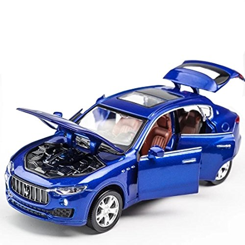 KMT Alloy Diecast Car Models Maserati Levante SUV Model Cars (Blue) by KMT