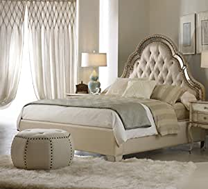Hooker Furniture Sanctuary Upholstered Bed In Pearl Essence King Kitchen Dining
