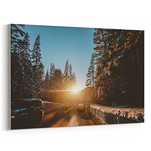 Westlake Art - Road Trip - 12x18 Canvas Print Wall Art - Canvas Stretched Gallery Wrap Modern Picture Photography Artwork - Ready to Hang 12x18 Inch (53A6-30328)