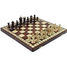 Royal 36 European Wood International Chess Set Board 36 x 36 cm