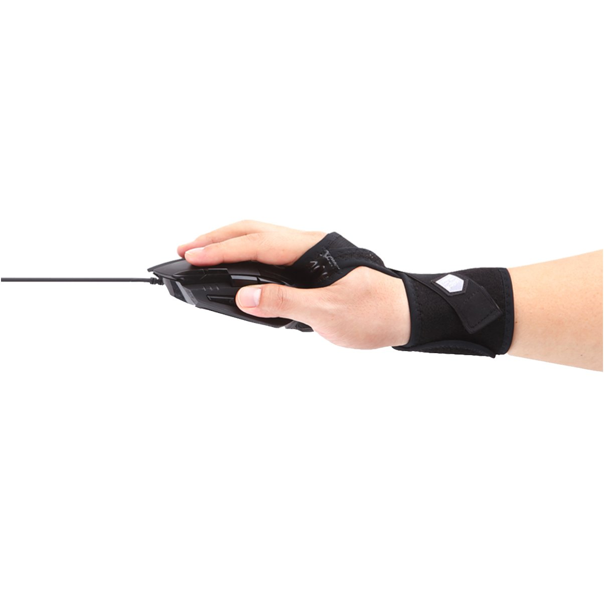 [Right Handed] Aider Professional e-Sports Gamer's Mouse Wrist Support Strap Camera Brace Sleeve - Type II - Made in Korea by Aider