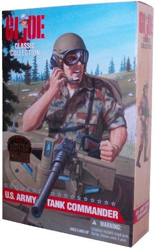 - G.I. Joe U.S. Army Tank Commander 1997 Limited Edition Classic Collection 12 Inch Tall Soldier Action Figure