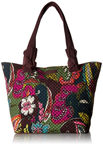 Vera Bradley Hadley East West Tote, Autumn Leaves