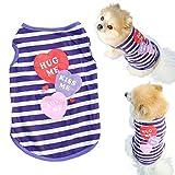 ABC®Pet Dog Clothes Cat Spring Summer Shirt Small Clothes Vest T Shirt (XS)