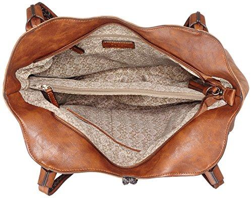 Gabor Lucy - Shoppers y bolsos de hombro Mujer Marrón (Braun)