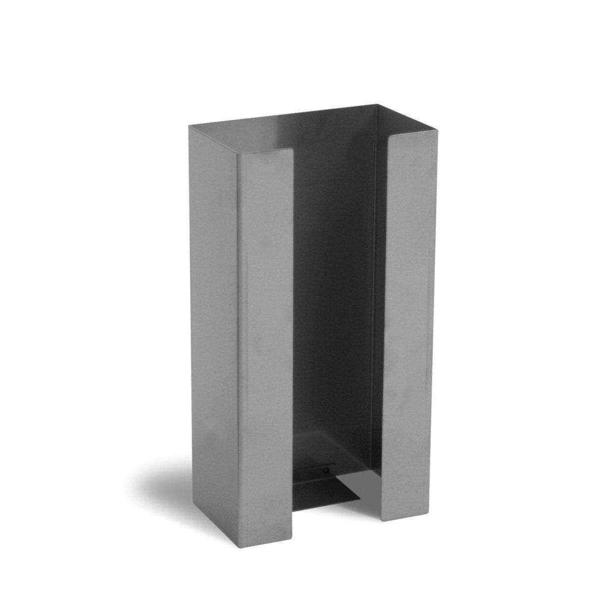 UltraSource Stainless Steel Glove Box Dispenser, 1 Box Capacity