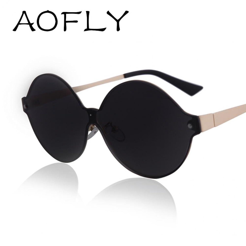 Port Fairy Newest Women Brand Design Vintage Round Sunglasses Men Metal Frame Fashion Coating Mirror Retro Sun Glasses Oculos De Sol Uv400