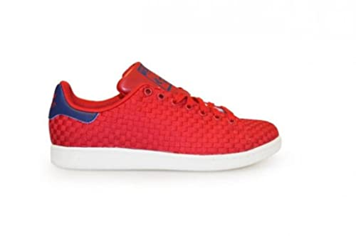 size 40 328b8 a1645 Adidas Mens - Stan Smith - Red White - BA8445, red red dark blue BA8445