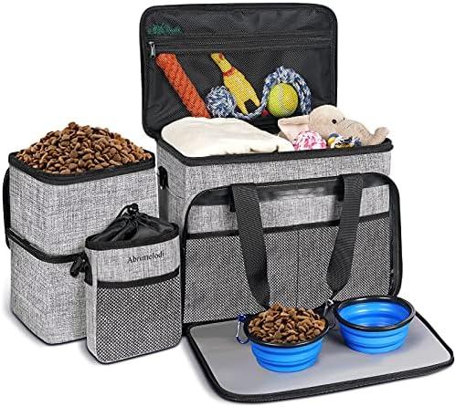Abrimelodi Dog Travel Bag|Set Include Airline...