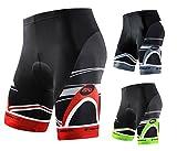 sponeed Men's Cycle Shorts Biking Pants Gel Padding Bicycle Ride Bottoms for Road Bikie MTB