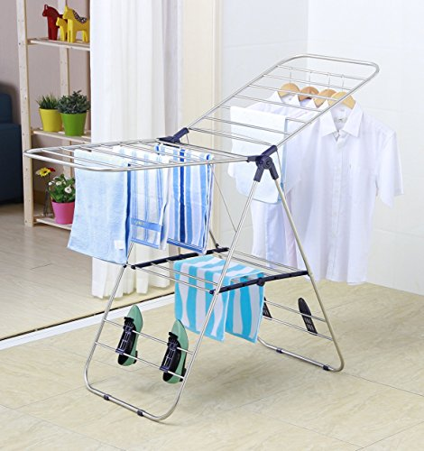 EWEI'S HomeWares 145 Heavy Duty Stainless Steel Clothes Dryi