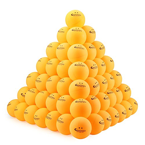 50 or 100 counts orange 2 star 40mm table tennis ball for 100 table tennis balls