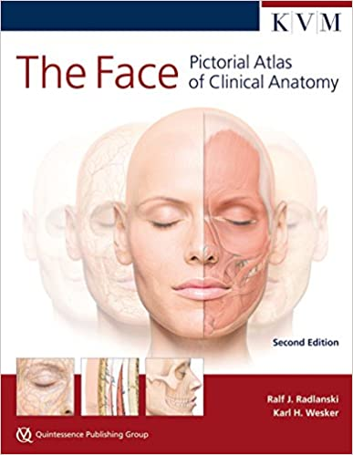 The Face Pictorial Atlas Of Clinical Anatomy 9781850972907