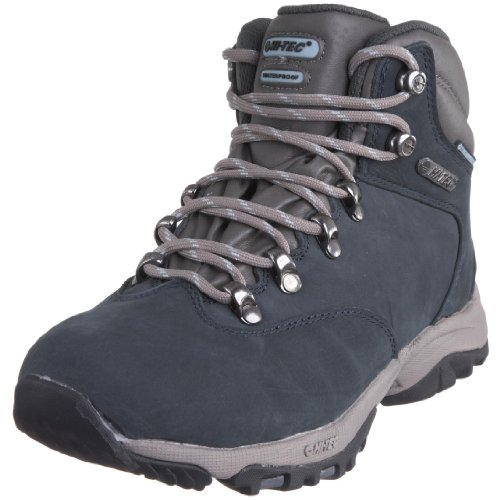 Amazon.com | HI-TEC Altitude Glide Waterproof Ladies Light Hiking Boot, Blue, US6 | Hiking Boots