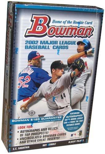 2002 Bowman Baseball Card Unopened Hobby Box