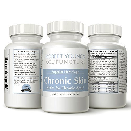 Acne Treatment Herbal Supplement (Chronic Acne)