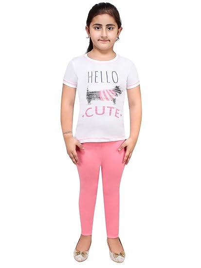 062a7447f7 Lazy shark Night Wear for Kids Girls - Track Suits - Pyjama Tshirt - Cotton