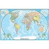 30x42 World Classic Wall Map - Laminated by Swiftmaps