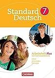 Standard Deutsch: 7. Schuljahr - Arbeitsheft Plus