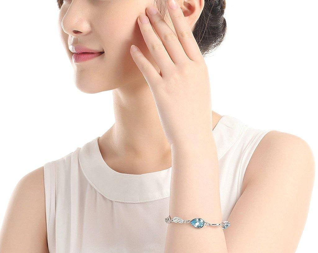 Aooaz Gold Plated Bracelet Women Girl Oval Hollow Heart Bangle Bracelet Wedding Gift for Family