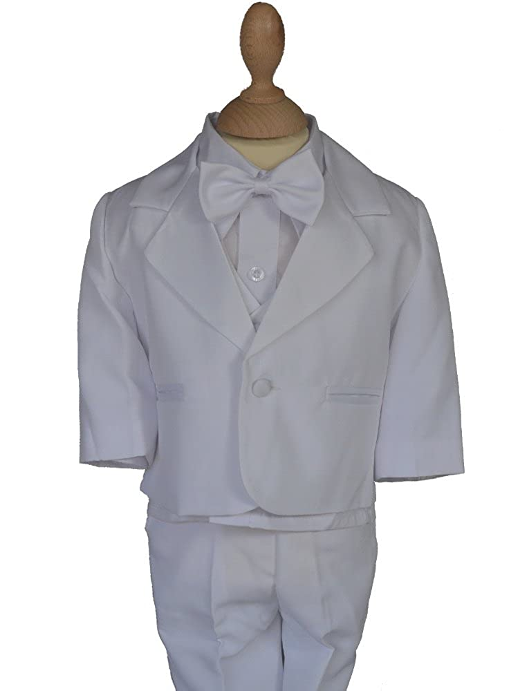 Costume garçon Blanc de baptême Jude