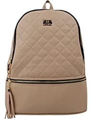 COPI Womens Simple, Gorgeously and Fashion Quilting Backpack with Feminine Design