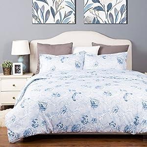 Spring Bloom Pattern Bedding Set Full/Queen (90
