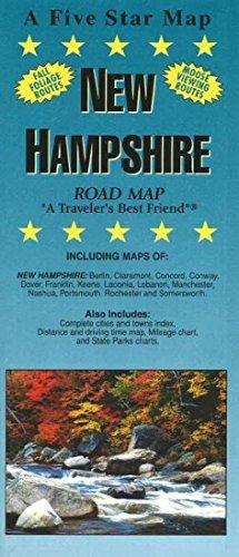 (New Hampshire Road Map)