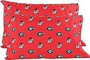 College Covers Georgia Bulldogs Pillowcase, Standard