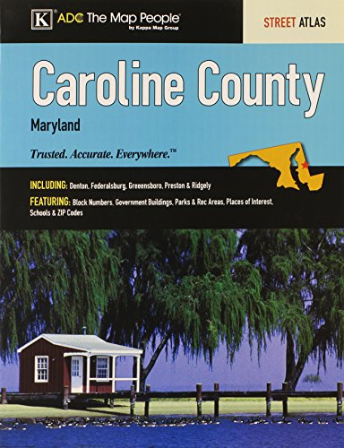 Caroline County Md Atlas