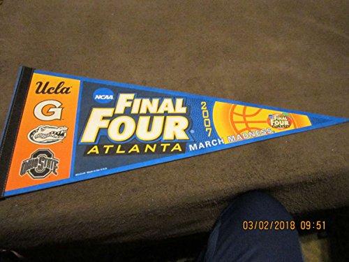 2007 UCLA Georgia Florida Ohio State Final Four Basketball Pennant championship (Basketball Championship 2007)