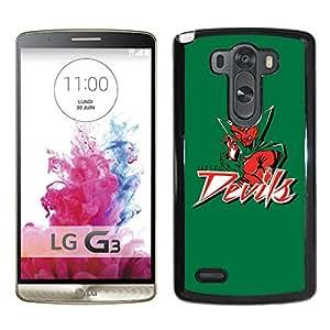 NCAA Mississippi Valley State MVSU Delta Devils 04 Black Popular Custom Design LG G3 Phone Case