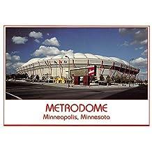 Metrodome, University of Minnesota Gophers Minneapolis, Minnesota, MN, USA Old Vintage Football Postcard Post Card