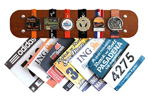 Medal Hanger Display Marathon Timber Mediocre