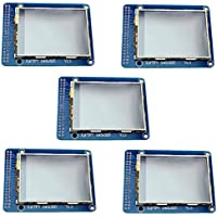 5pcs 2.4 Multicolor TFT Touchscreen LCD Display Based on ILI9325DS Controller with 240 x 320 Pixels Resolution, SD Card Slot and 74HC245D for Graphic Display from Optimus Electric