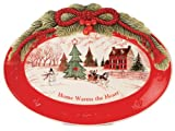 Fitz and Floyd Home Warms The Heart Sentiment Tray