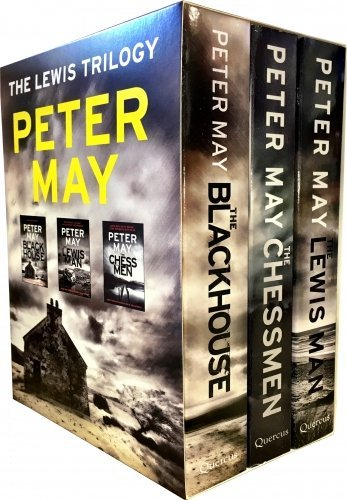 Lewis Trilogy Peter May Gift Box Set, (The Lewis Man, The Blackhouse, The Chessmen)