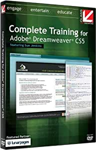 Class on Demand Complete Training for Adobe Dreamweaver CS5 Educational Training Tutorial DVD-ROM with Sue Jenkins 99906