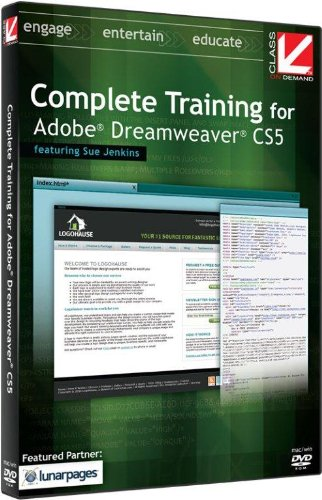 class-on-demand-complete-training-for-adobe-dreamweaver-cs5-educational-training-tutorial-dvd-rom-wi