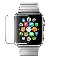 38/42mm Protector de visualización para Apple Watch iWatch, yasashe 0,2mm 2.5d Vidrio Templado Película