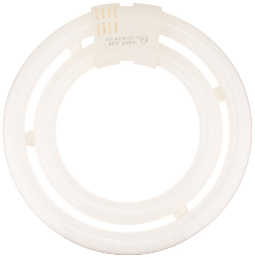 Soft White Non-dimmable TCP 150W Equivalent CFL T6 Double Circle Lamp