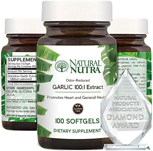 Natural Nutra Garlic Supplement