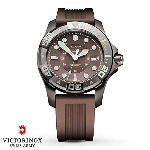 Victorinox Swiss Army Dive Master 500 Grey Dial Ladies Watch 241561