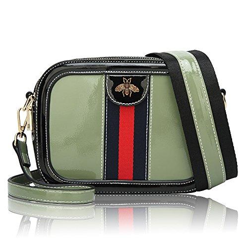 854ebd7bca62 Beatfull Women Genuine Leather Designer Shoulder Bag Camera Crossbody Bag  Mini Bee Handbag - Buy Online in Oman.