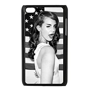 Print Your Own Image Unique Phone Case With Lana Del Rey YXUX243869for Ipod Touch 4 Hard Shell Protection