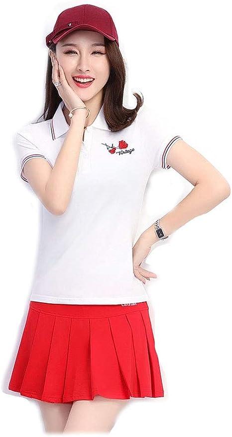 B2KEY®Traje de Ropa Deportiva Camiseta de Manga Corta para Mujer ...