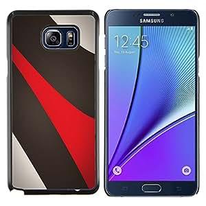 "Be-Star Único Patrón Plástico Duro Fundas Cover Cubre Hard Case Cover Para Samsung Galaxy Note5 / N920 ( Líneas abstractas"" )"