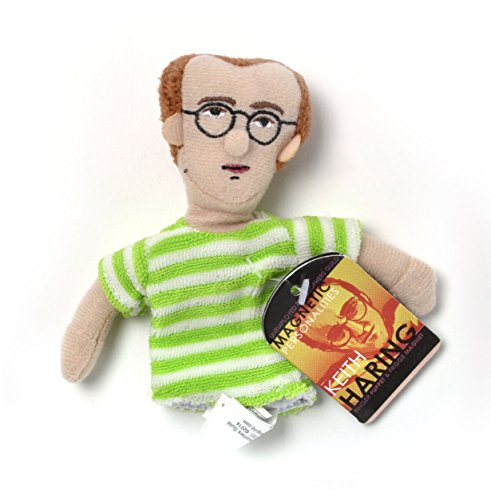 The Unemployed Philosophers Guild Keith Haring Finger Puppet and Refrigerator Magnet - For Kids and Adults