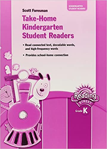 Take Home Kindergarten Student Readers Reading